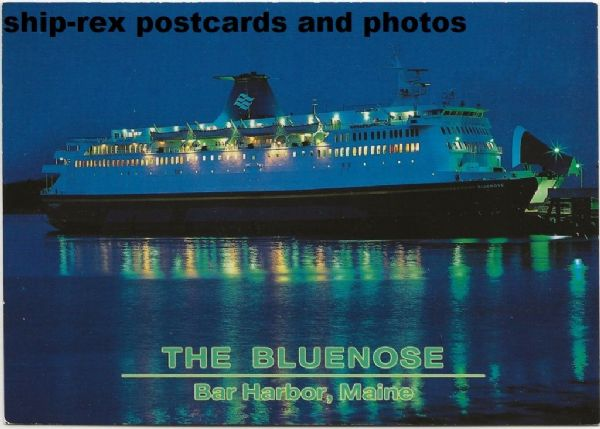 BLUENOSE (1983, Marine Atlantic) postcard (b)